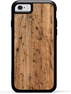 product image for iPhone 6 / 6s Eucalyptus Wood Traveler Case by Carved, Unique Real Wooden Phone Cover (Rubber Bumper, Fits Apple iPhone 6 / 6s)