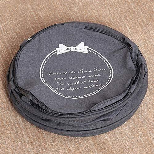 Yilan Cotton Panier À Linge, Oxford Pliable Linge Sale Sacs & Panier, Wash Pliant Sac À Lèvre Panier À Linge