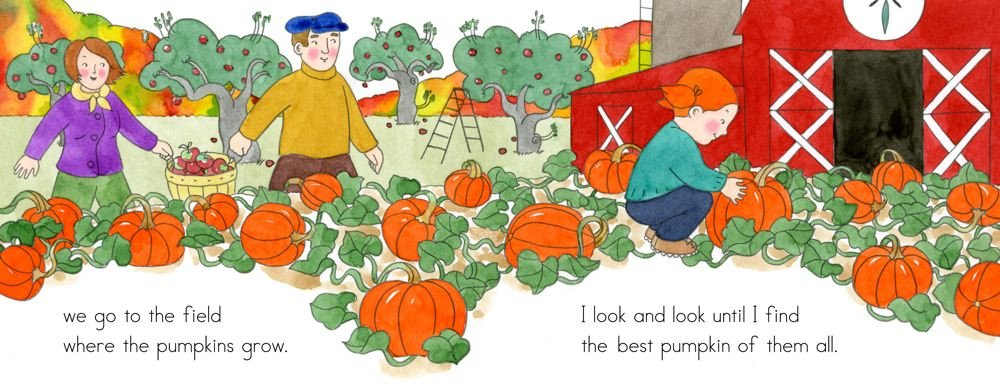 amazon apples and pumpkins anne rockwell lizzy rockwell nature