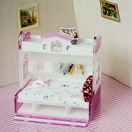 Amazon.com: SM SunniMix 1/12 Dollhouse Miniature Children ...