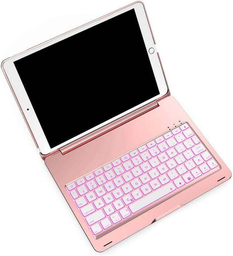 Rose Gold ZHEN LI Tablet PC External Bluetooth Keyboard Suitable for 2019 Air or Pro10.5 inch Metal Backlit Model -Silver