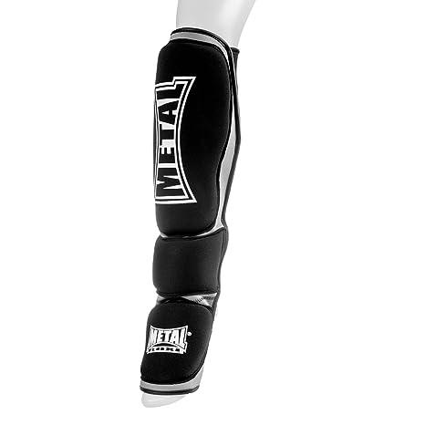 différents types de professionnel bonne texture METAL BOXE Neoprene Protegge tibias-Pieds MMA Combattimento ...