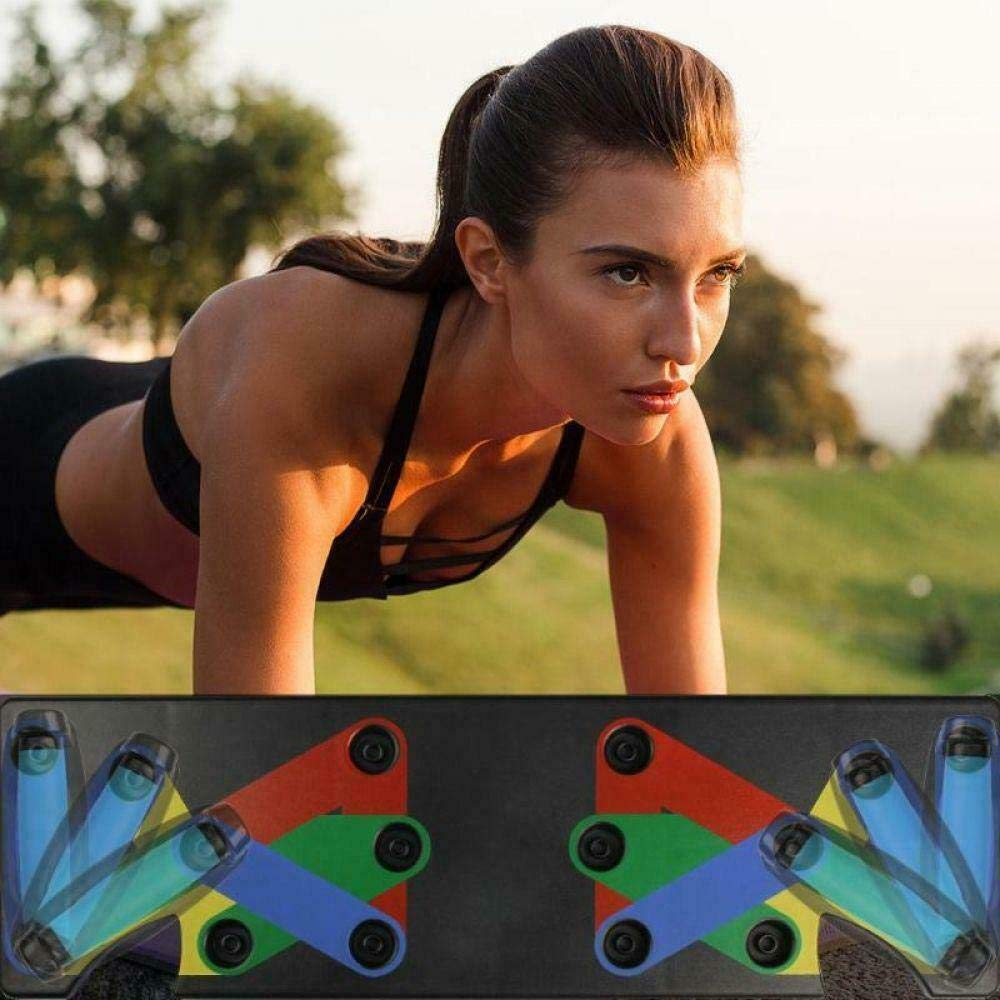 Portable for Home Fitness Training 9-in-1 System ChidoGear Push UP Muscle Board The Ultra Push US Stock