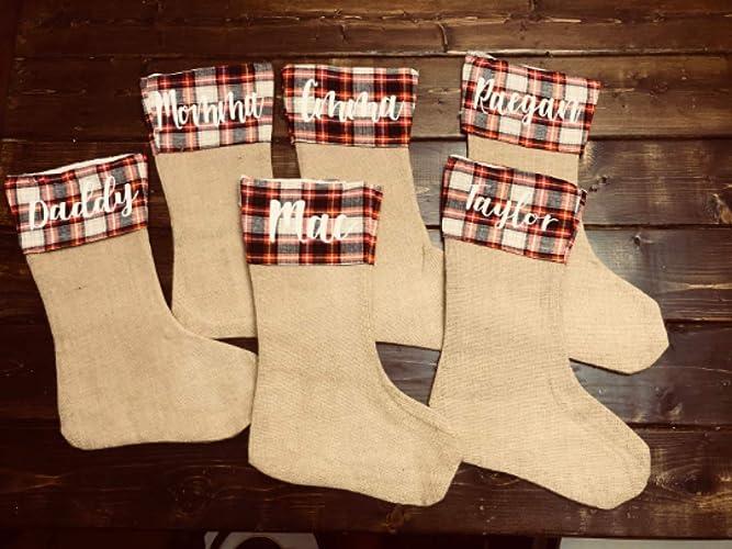 a546284ebf4 Amazon.com  Personalized Christmas Stockings