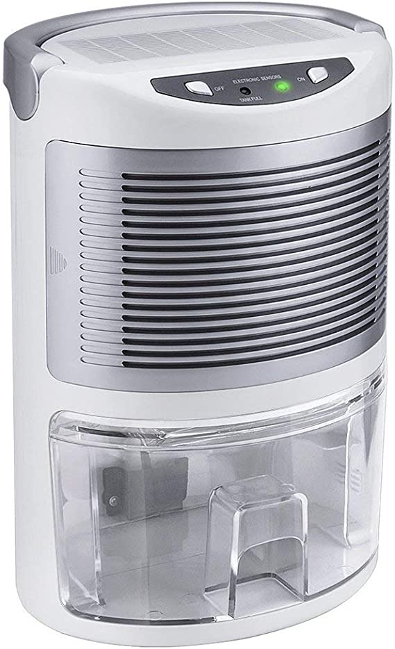 MISSPET Dehumidifier Compact Dehumidifiers for Home, Premium Dehumidifying Unit with Whisper Quiet Operation, Auto Shut Off, Anti Slip Handle