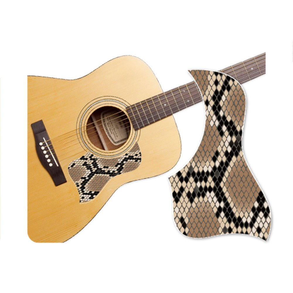Healingshield Premium Acoustic Guitar Pickguard Style Type Snake