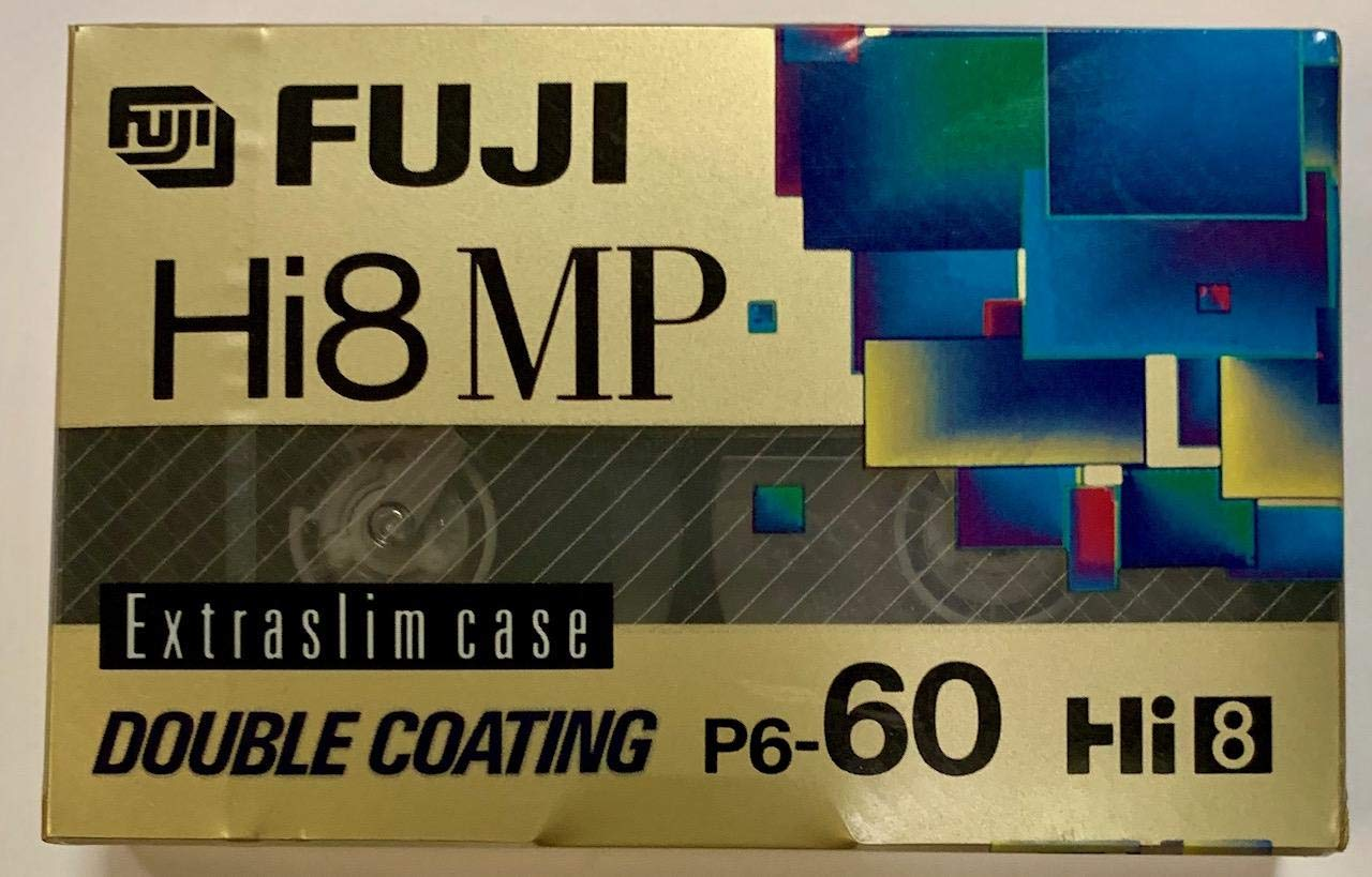 FUJI P6-60 MP DS 8mm Video Cassette by Fuji