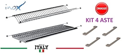 Casabriconline - Escurridor de platos para empotrar de 86 cm para muebles  de 90 cm - d0b6cb0efaba