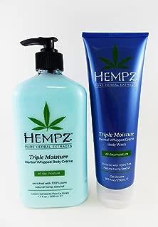 product image for Hempz Triple Moisture Body Lotion & Bath Wash Gift Set - 2 pc.