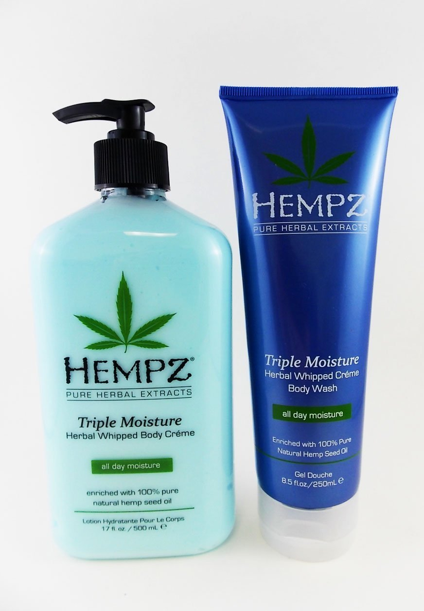 Hempz Triple Moisture Body Lotion & Bath Wash Gift Set - 2 pc. by HEMPZ