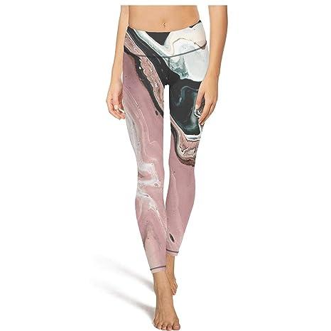 6dfd29d336c9d XIdan-die Womens Yoga Pants Rose Marble Abstract Watercolor Workout Running  Leggings