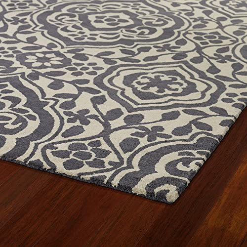 Kaleen Rugs Evolution Collection EVL04-75 Grey Hand Tufted 8 x 11 Rug