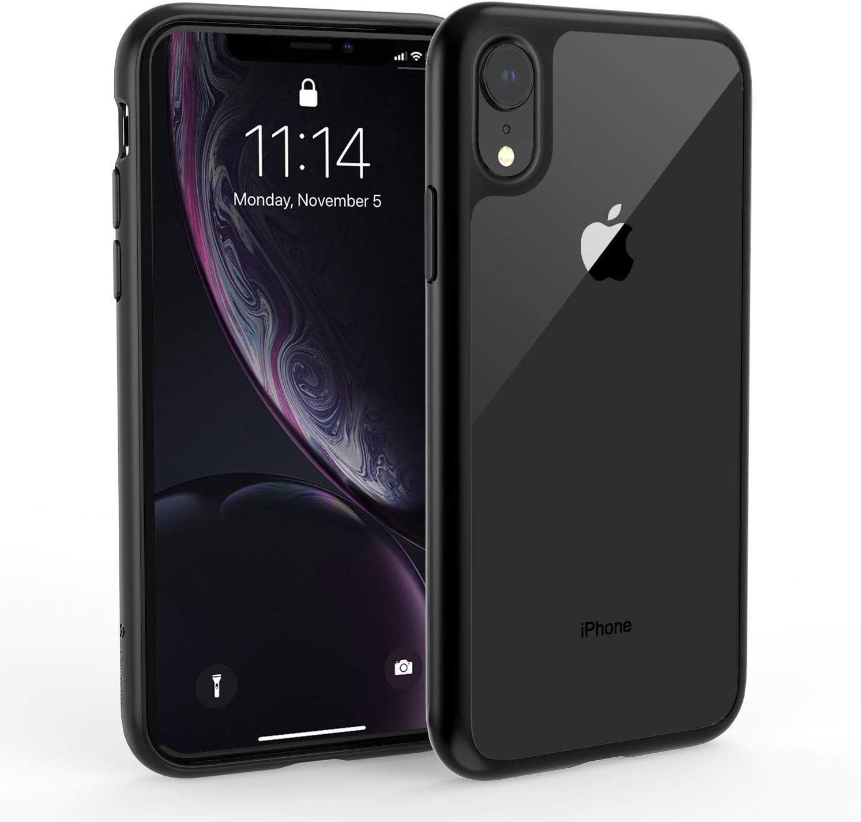 Syncwire Funda iPhone XR - UltraRock Funda Protectora para iPhone XR con Protección Avanzada Ante Caídas y Tecnología de Cámara de Aire Protectora para Apple iPhone XR (2018) - Negro Mate: Amazon.es: Electrónica