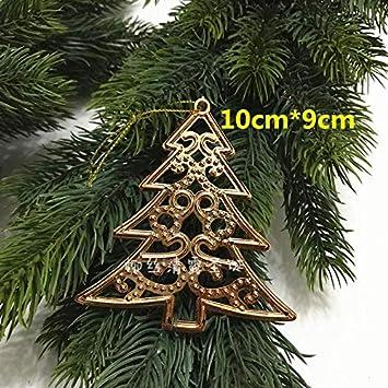 Decorazioni Natalizie Pendenti.Qzhe Ornamento Di Natale Per Natale Pendenti Decorativi