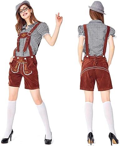 Bartender Bartender Cosplay Disfraz The Oktoberfest Disfraz Camisa ...
