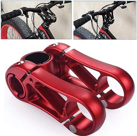 MTB Elevador de V/ástago de Bicicleta Aleaci/ón de Aluminio Bicicleta Tenedor de V/ástago Raiser Adaptador de V/ástago de Manillar de Bicicleta para 1-1//828.6mm Bicicleta de Monta/ña