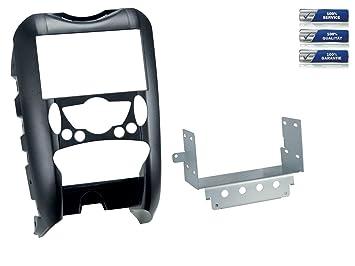 De doble DIN para radio de coche para BMW Mini (R55/R56/R57) con mecanismo automático. Aire Acondicionado * Negro *: Amazon.es: Electrónica