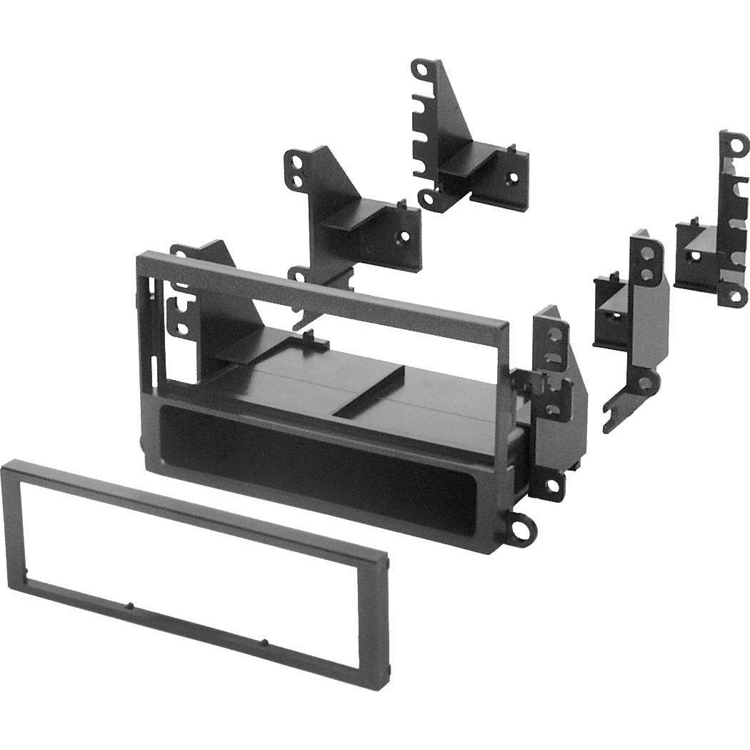 American International Car Install Kit Dash Mounting Kit 95-04 Nissan Audio System - Black
