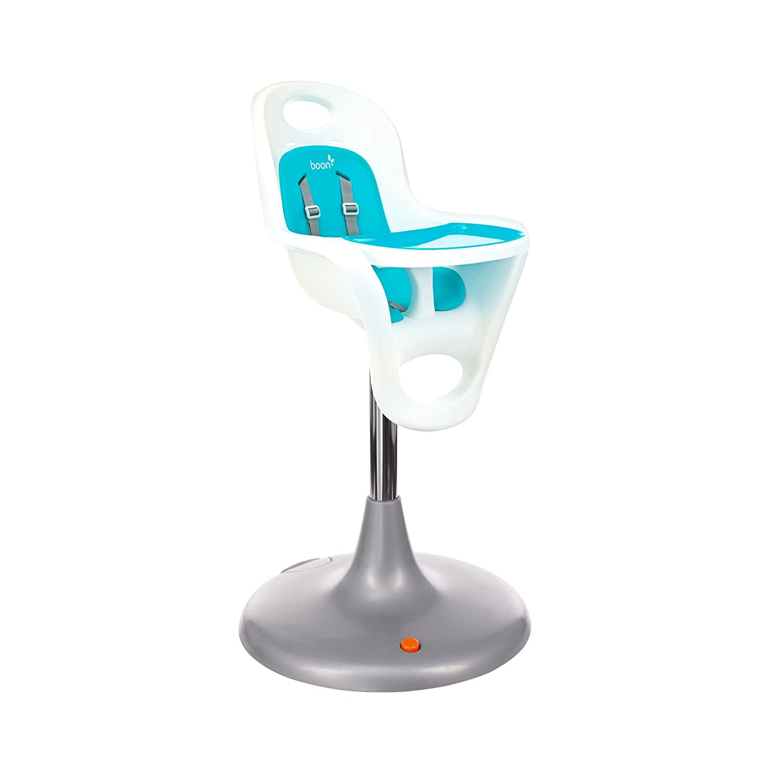 Amazon Boon Flair Highchair Blue Pad White Base Baby