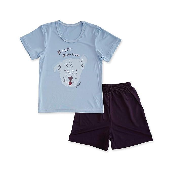 Amazon.com  MiNiK Kids Boys Girls Summer Cool Rayon Sleepwear ... 0557336c6
