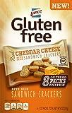 Lance Gluten Free Cheese Sandwich Crackers, 8 Count