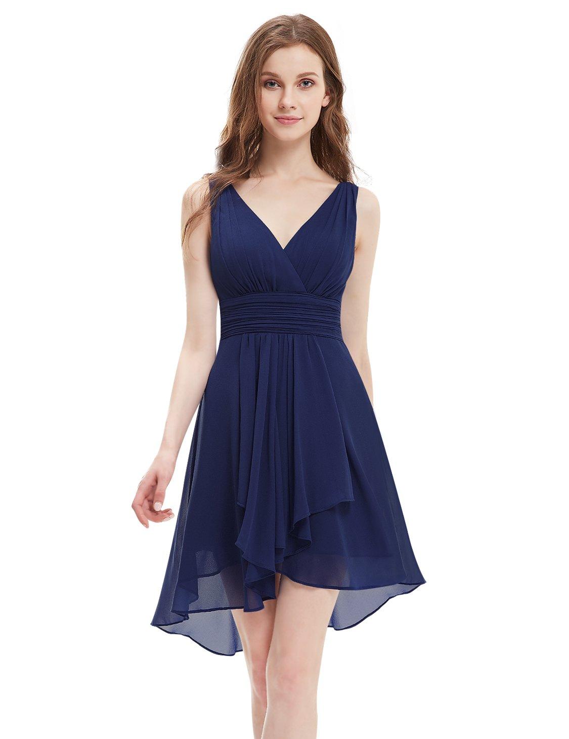 Navy Short Bridesmaid Dresses: Amazon.com