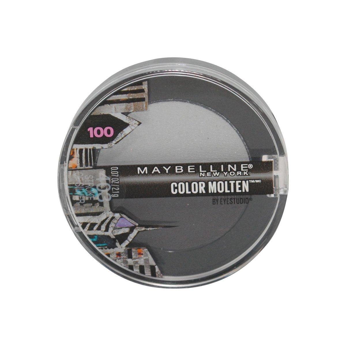 Maybelline New York Eye Studio Limited Edition Color Molten Cream Eye Shadow - 403 Stroke of Silver