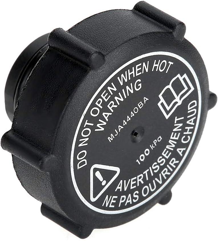 K/ühlmittel-Ausgleichsbeh/älterdeckel MJA4440BA ABS Schwarz K/ühlmittel-Ausgleichsbeh/älterdeckel OE
