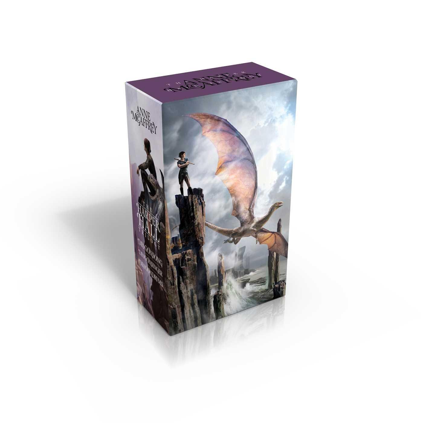 The Harper Hall Trilogy: Dragonsong; Dragonsinger; Dragondrums (Harper Hall  of Pern): Anne McCaffrey: 9781481456920: Amazon.com: Books