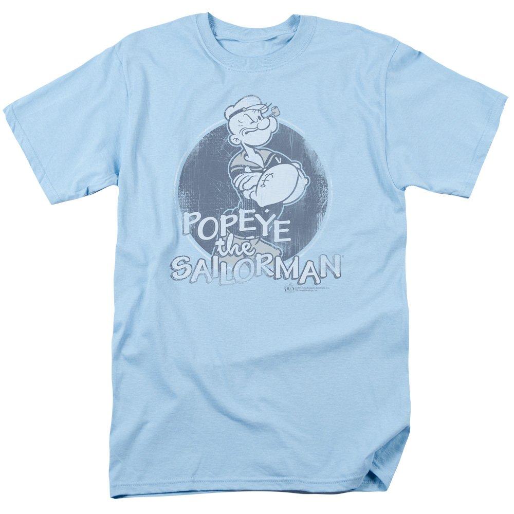 Popeye The Sailor Man Cartoon Character Original Sailorman Adult T Shirt Tee