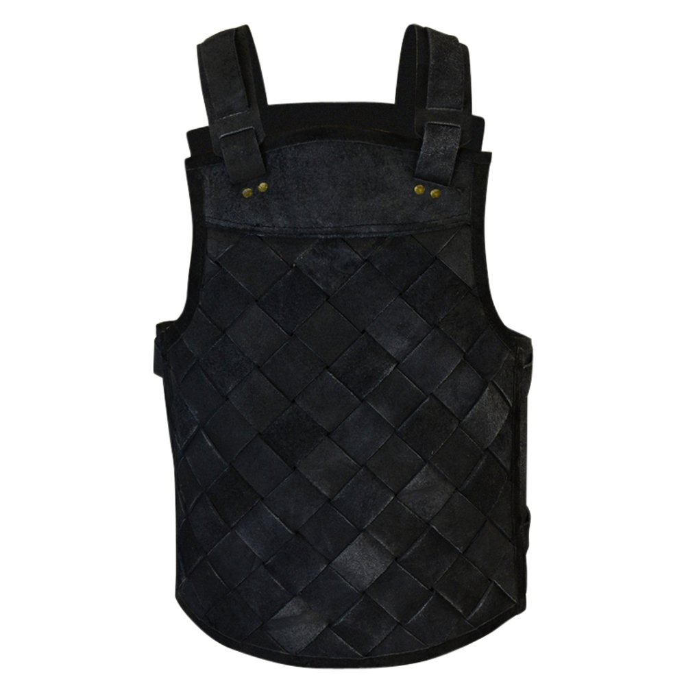 Armor Venue RFB Viking Leather Armour- Black Large by Armor Venue