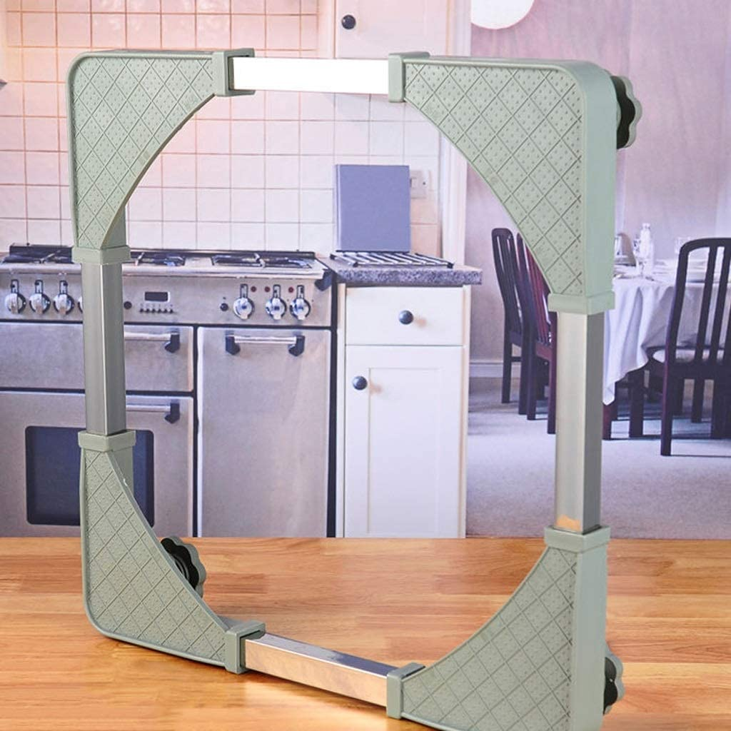 Color : A 52x50x7cm Furniture Mover BINZHI Washing Machine Plastic Adjustable Length Bracket for Furniture Refrigerator Washing Machine Heavier Items