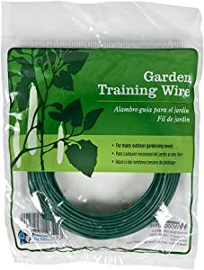 Gardener's Blue Ribbon 50 Feet Heavy Duty Coated Garden Training Wire T025A