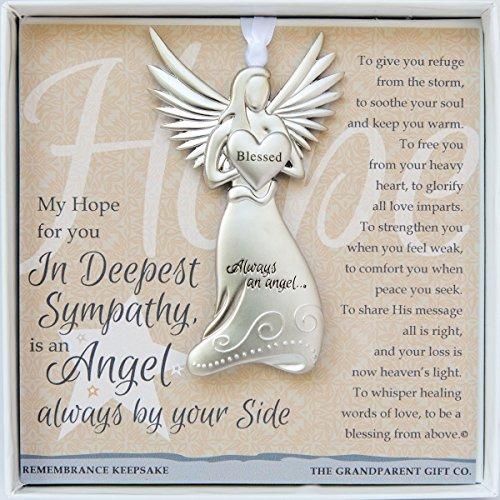 The Grandparent Gift Sympathy Angel Memorial Keepsake