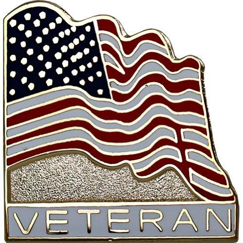 Veteran with American Flag 7/8