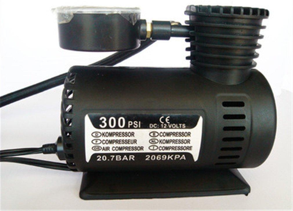 Amazon.com: Rumfo 300/250PSI Miniature Air Pump Car Tire Inflator With Pressure Gauge: Portable 12v Air Compressor And Tire Pump - Small Compressor Tanks ...