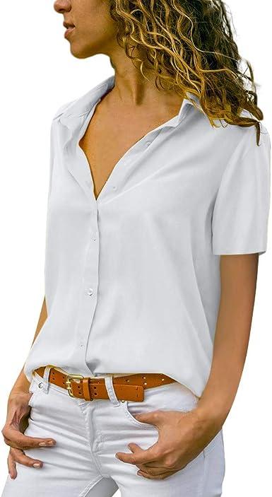 Geilisungren Camiseta Mujer, Blusas para Mujer Elegantes ...