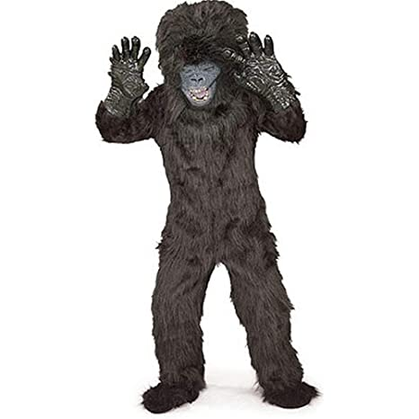 gorilla child costume small 4 6
