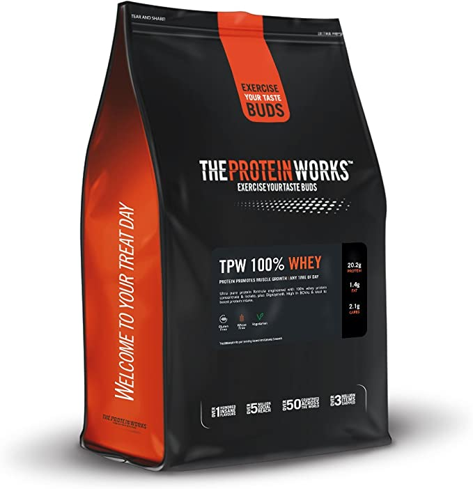 The Protein Works 100% Whey - 500 gr: Amazon.es: Salud y ...