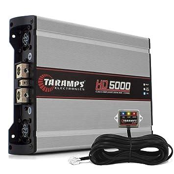 taramps HD5000 2 ohmios amplificador EQ HD de Taramp 5000 Watts gama ...