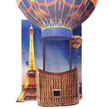 Amazoncom Paris Hot Air Balloon Photo Prop Kit 9 Feet 8 Inches