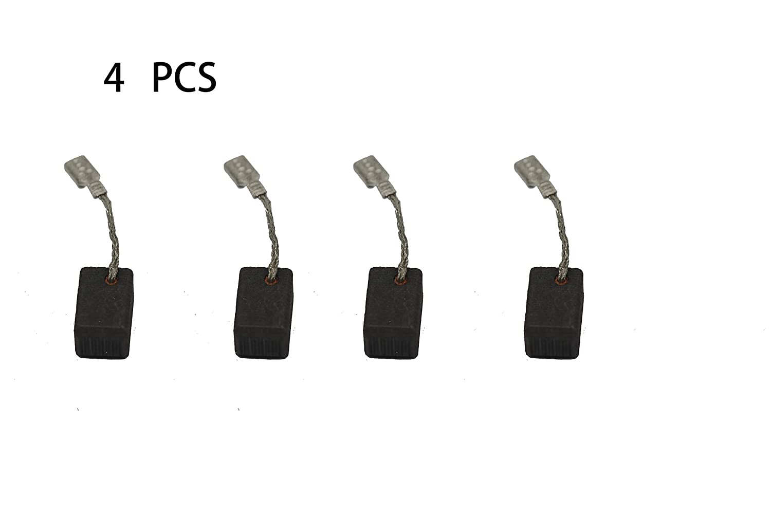 4 PCS Carbon Brushes Compatible Bosch 1380 Angle Grinder, Brush Replacement Part for Power Tools