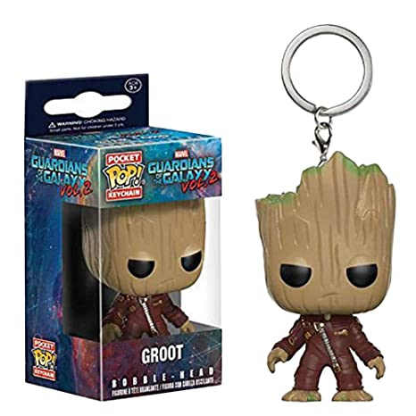 Abai8981 Pocket Pop! Llavero: Guardianes de la Galaxia - Dancing Baby Groot