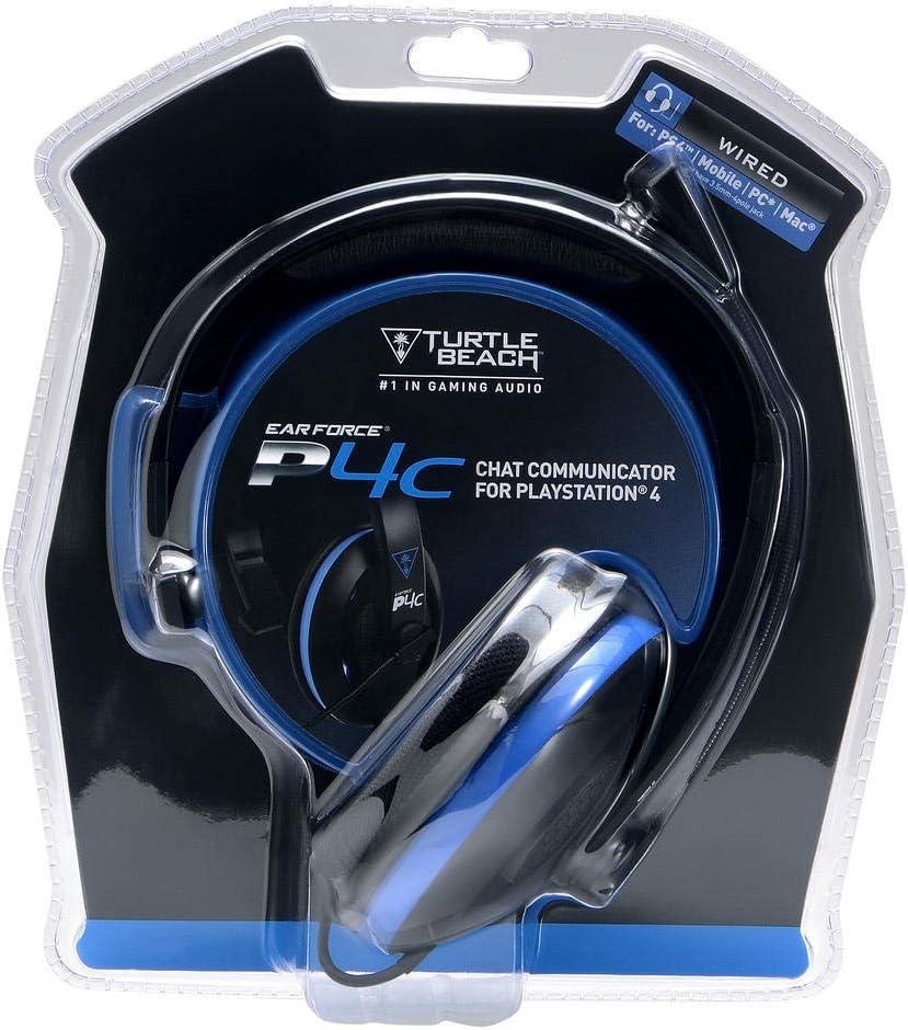 Turtle Beach P4C - Auriculares de chat - PS4 y PS4 Pro: Amazon.es: Videojuegos