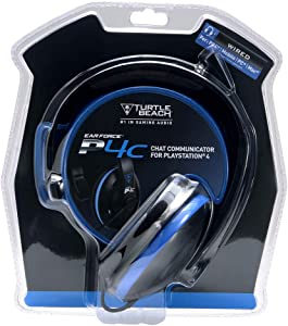 Turtle Beach P4C - Auriculares de chat - PS4 y PS4 Pro