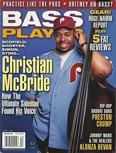 Bass Mcbride - Bass Player Magazine, Christian McBride - April 2003 (Single Issue Magazine)