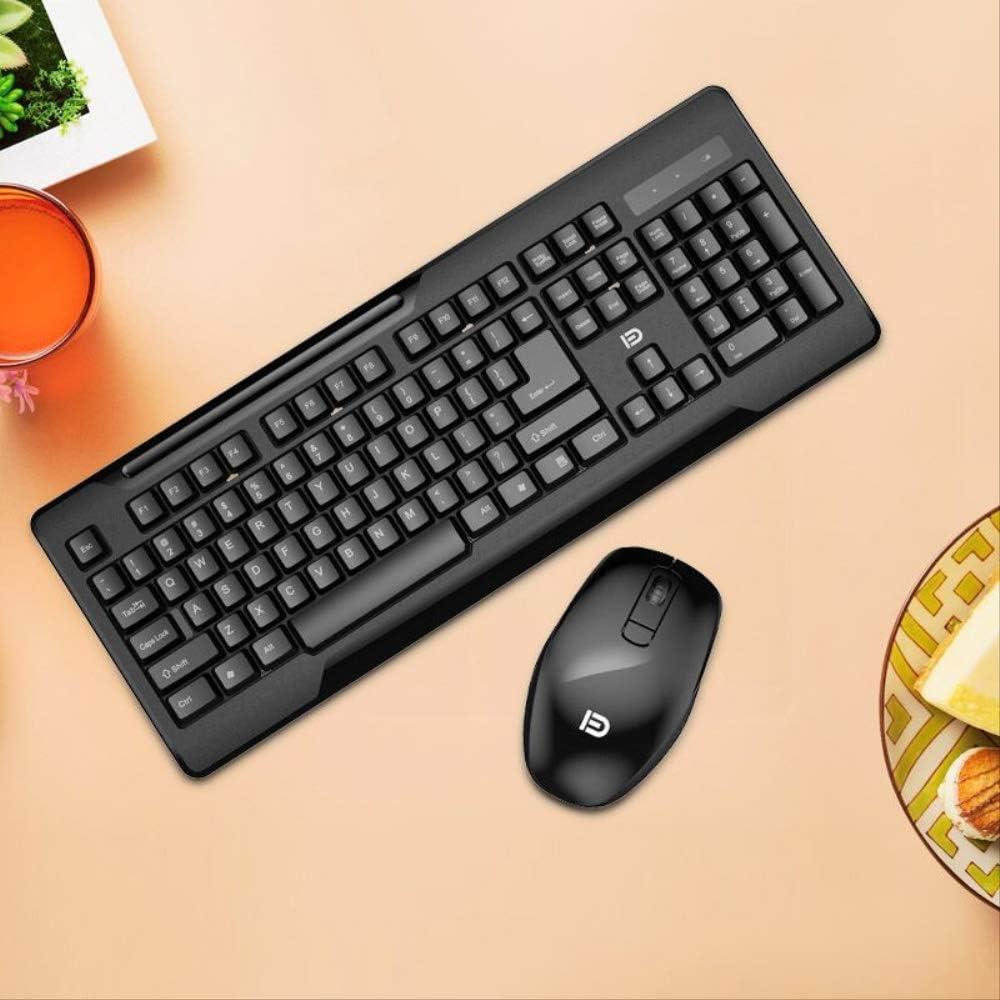 KCA Teclado Inalámbrico Mouse Set Chocolate Keyboard Computer ...