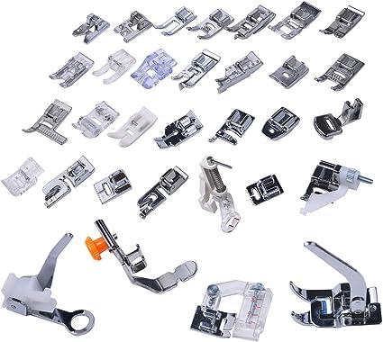 32 pies INHDBOX MTB accesorios para pie de costura de coser para ...
