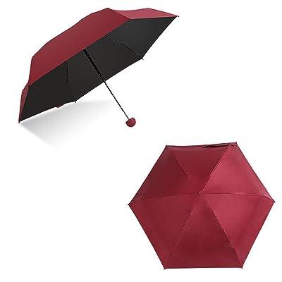 DOENR Compact Travel Umbrella Roman Pattern Sun and Rain Auto Open Close Umbrellas Lightweight Portable Outdoor Folding Umbrella