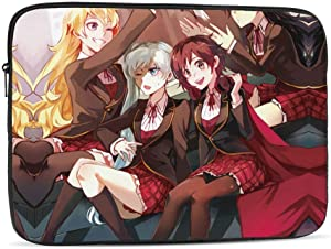 Laptop Sleeve Case for 10 12 13 15 17inch,RWBY_Vol1_Japan_DVD_Blu-Ray_Cover_Limited_Ed Notebook Computer Pocket Case/Tablet Briefcase Carrying Bag